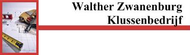 Walther Zwanenburg Klussenbedrijf logo